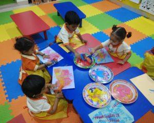colors at uc kindies international preschool