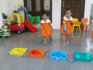 games at uc kindies international preschool