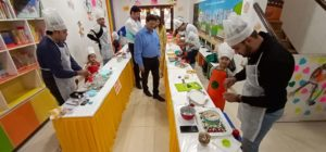 little chef event at UC Kindies