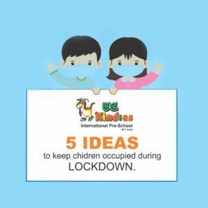 5 Ideas To Keep Children Occupied During Lockdown