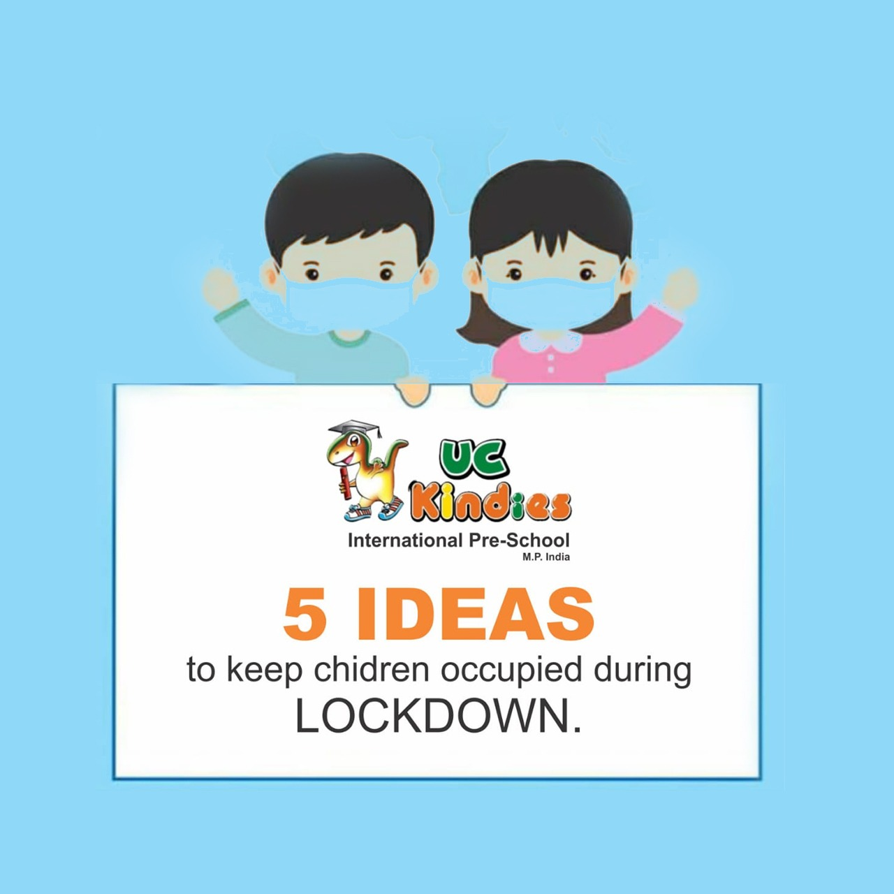 5 Ideas To Keep Children Occupied During Lockdown