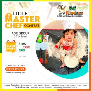 THE LITTLE MASTERCHEF CONTEST